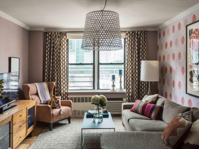 Wohnzimmer Tapeten Ideen Wie Sie Die Wohnzimmerwnde Beleben