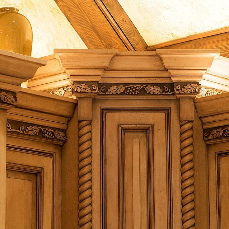 Decorative Wood Trim Kitchen Cabinets   Cabinet decor ...