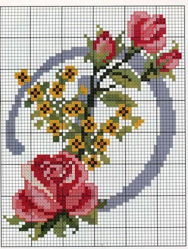 Free embroidery scheme alphabet