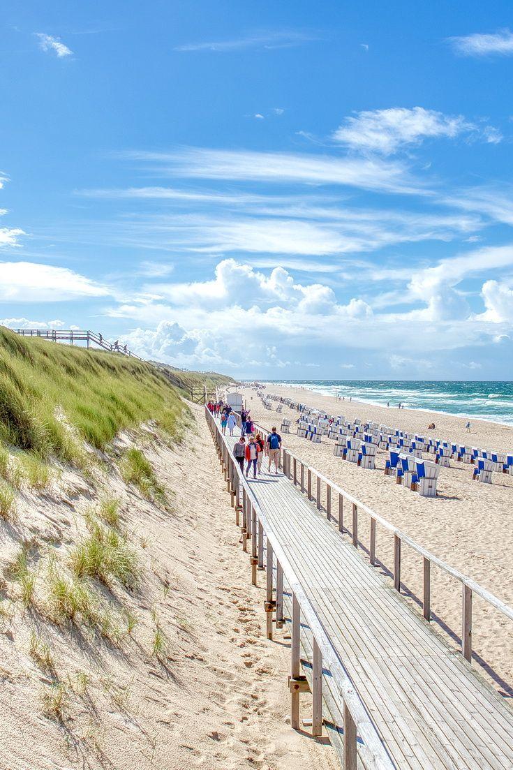Kustenpromenade Am Strand Sylt Urlaub Urlaub Nordsee Ferienhaus Sylt