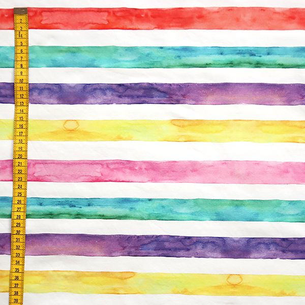 Watercolor stripes, design by Outi Santaniemi