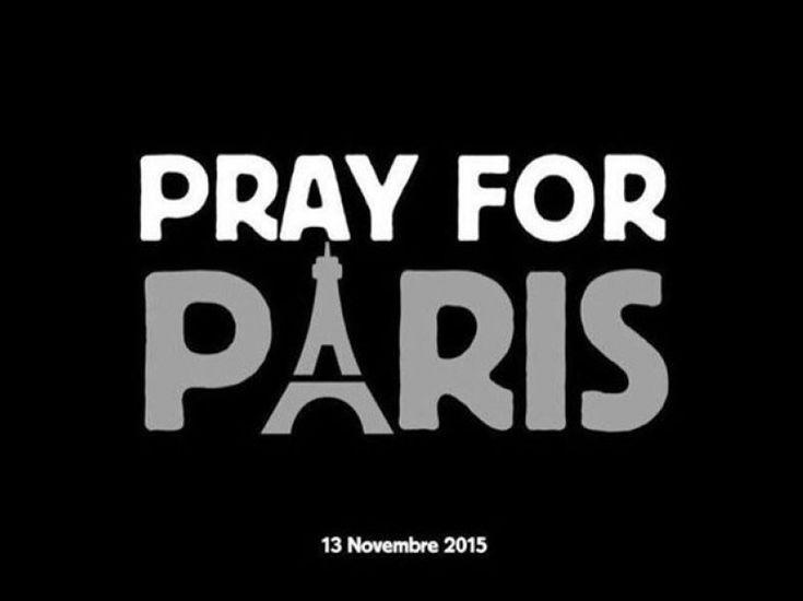 """""""Pray for Paris"""" : les hommages après les attentats sur les réseaux sociaux"""