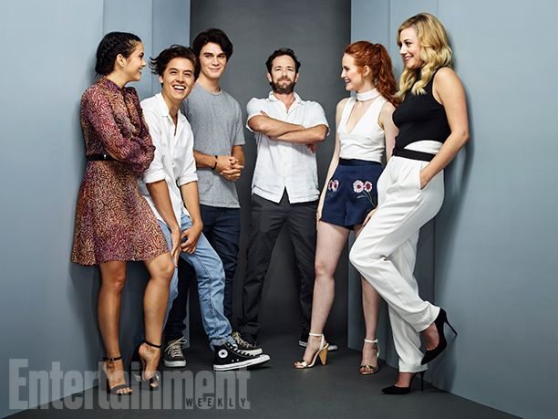 Comic-Con 2016 Star Portraits: Day 3 | Camila Mendes, Cole Sprouse, KJ Apa, Luke Perry, Madelaine Petsch, and Lili Reinhart, 'Riverdale' | EW.com