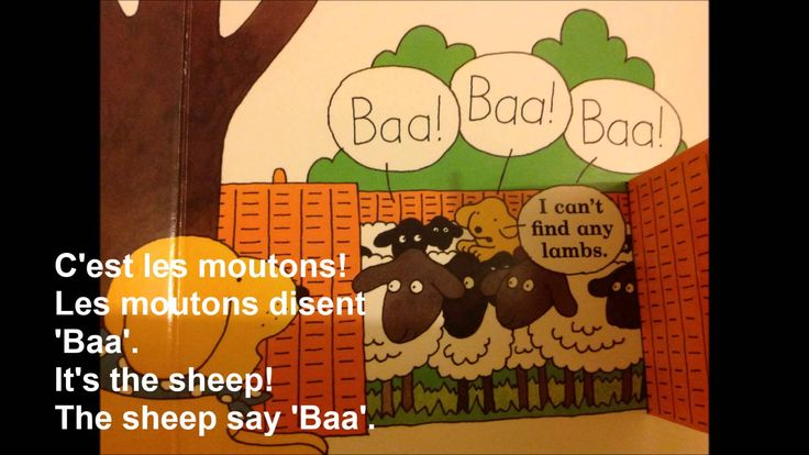 Spot goes to the Farm - translated in French.  Learn animals and their sounds as you join Spot on his farm adventure!