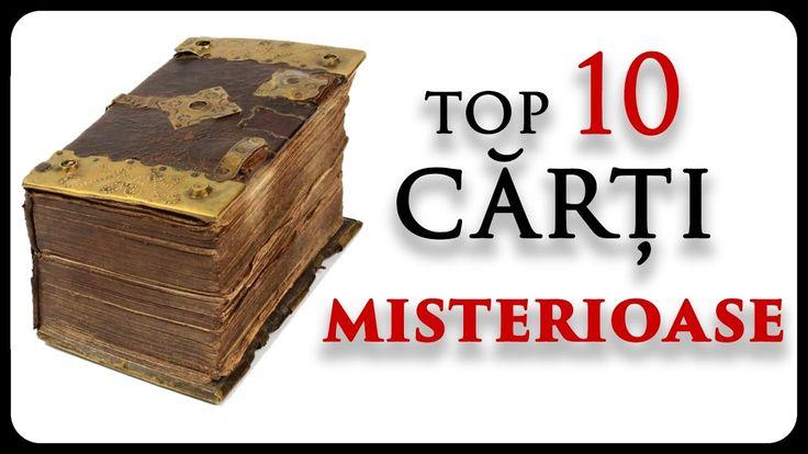 10 cărți MISTERIOASE