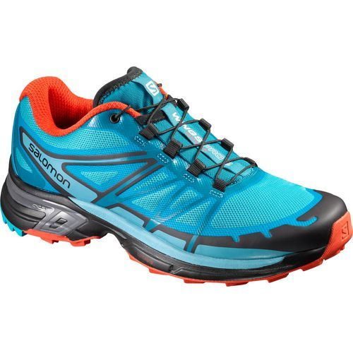 Salomon Women's Low Wings Pro 2 Trail Running Shoes (Blue/Orange, Size 7) - Women's Outdoor Shoes at Academy Sports