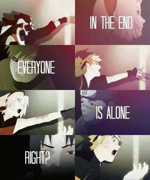 """Naruto. (reminds of The Fray song """"You Found Me"""")"""