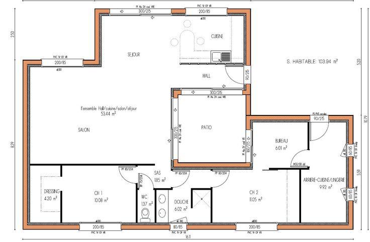 MAISON design 104 m² 2 chambres