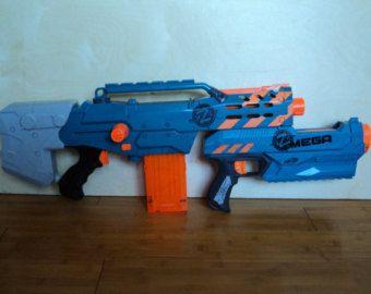 Nerf Longshot Pump Grip Kit by GavinfuzzyCustoms on Etsy