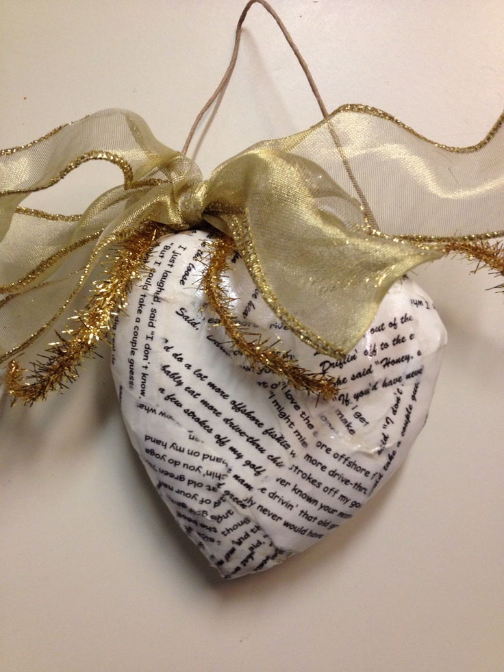 proper friendly letter format%0A An ornament with our wedding song lyrics  A great gift from my sister