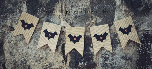 Simple Halloween Bunting Banner