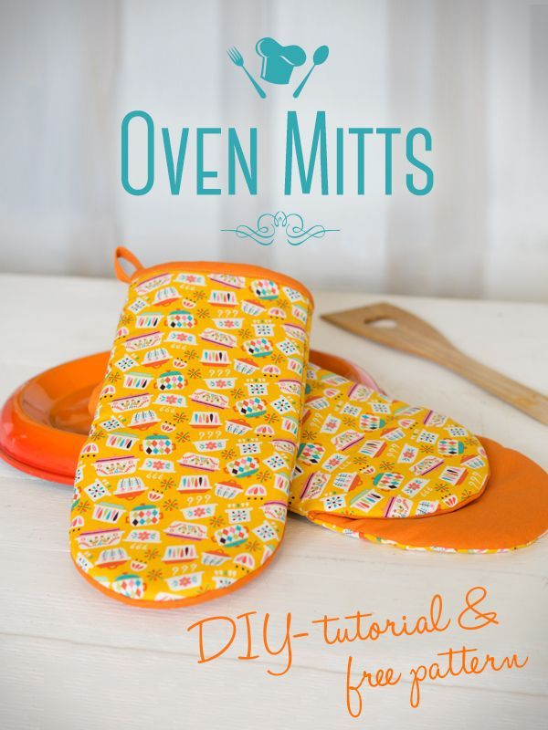 Sew your own oven mitts                                                                                                                                                                                 More