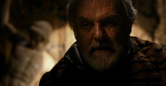 Anthony Hopkins as Sir John Talbot in The Wolfman.