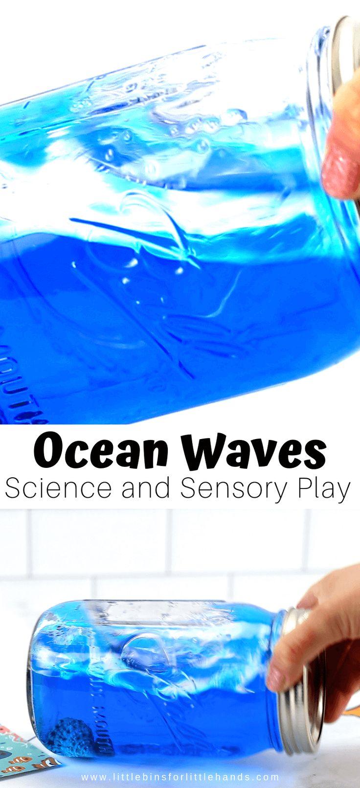 Ocean Waves In A Bottle