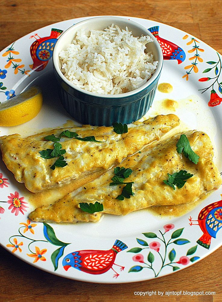 eintopf: ryba w sosie musztardowo-cytrynowym
