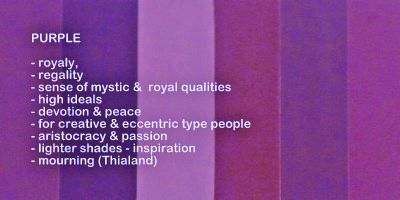 meaning of colour purple | Symbolic meaning and description of different shades of the color ...