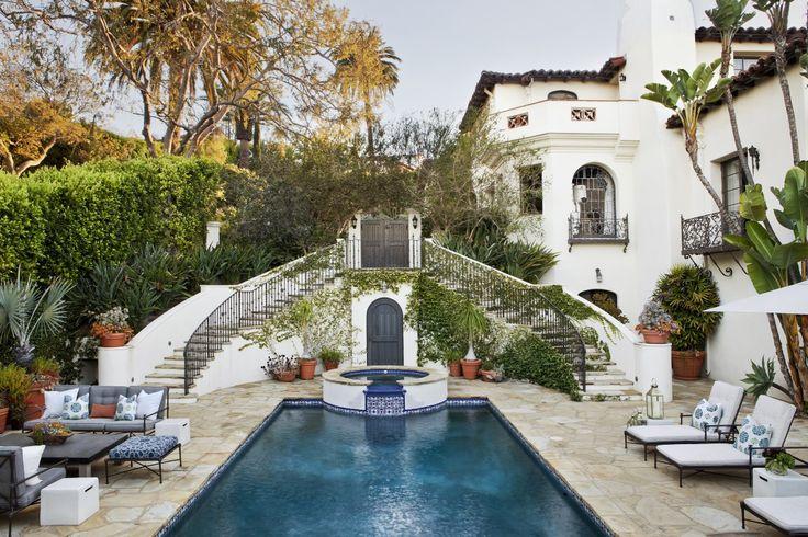 Spanish Colonial Revival Interior Design Los Angeles