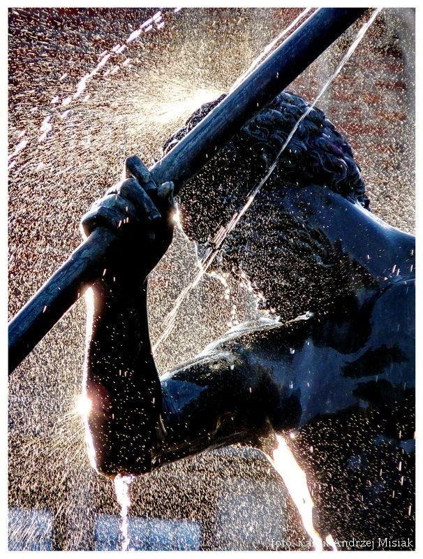 Fontanna Neptuna / Neptune's #Fountain | fot. Kamil Andrzej Misiak  #Gdansk