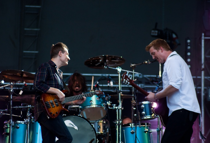Them Crooked Vultures - Download Festival - June 2010