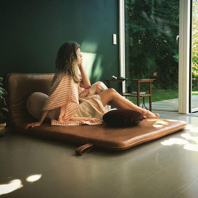 Dreaming #them #bythornam #daybed #leather #handmade #danishdesign #luxery #slowliving