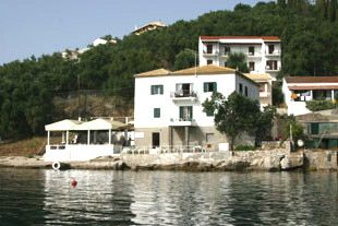 "The Durrell's ""White-House"" in Corfu', Ionian Island in Kalami. Lawrence and Nancy rented a fisherman's cottage right on the bay at Kalami in northeastern Corfu, a tiny village that in 1936 consisted of about five small cottages. Spiro Amerikanos, the Durrell's friend and chauffeur, found the house for them, to which they eventually added another floor. Lawrence describes life in the villa in his beautiful Prospero's Cell .and in his poem The Unimportant Morning"