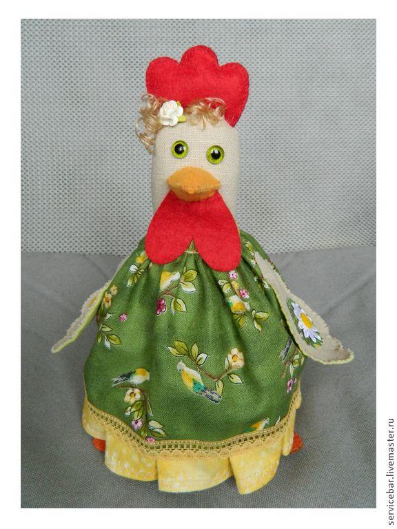 Купить Игрушка текстильная Курочка Ханна - подарок, ручная работа, игрушка ручной работы