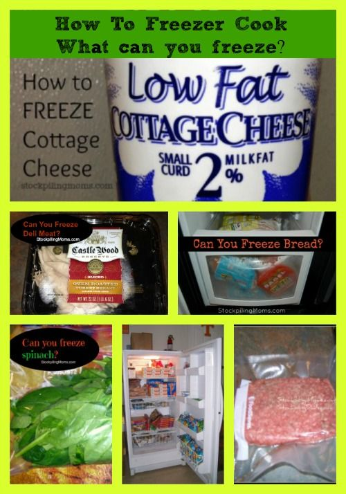 What Can You Freeze? How to freeze 30 Foods