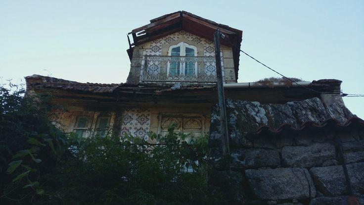 Lugares abandonados. A Insua .Ponte Caldelas. Pontevedra