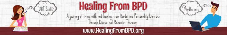 Healing from BPD