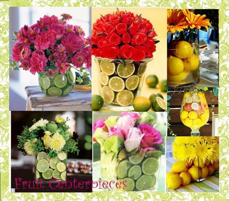 Best fruit centerpiece ideas on pinterest