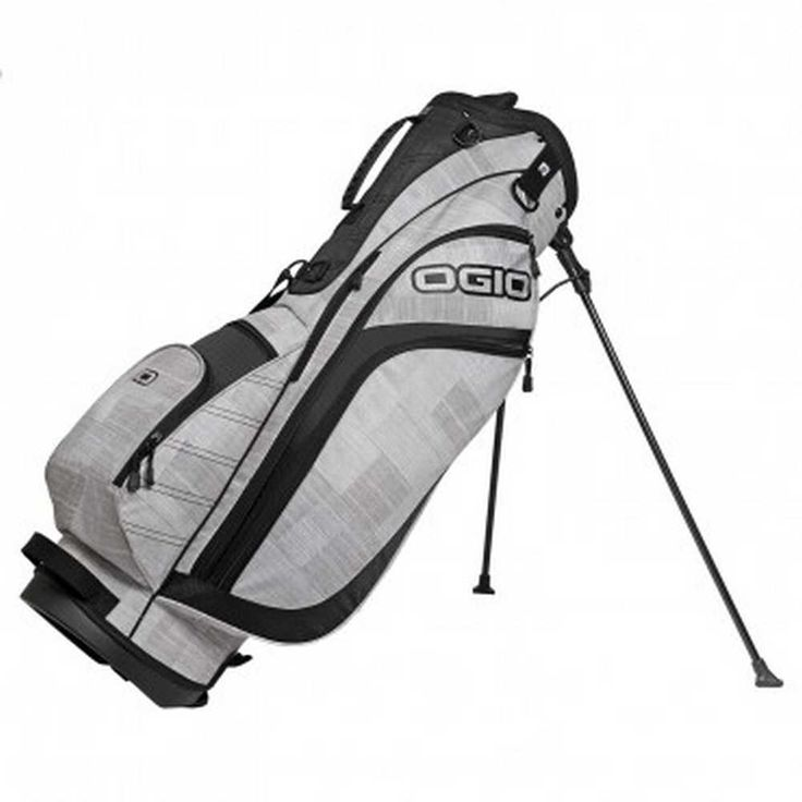 Ogio Golf Press Golf Stand Bag Adult 7-Way Top, 3 Color Choices. 125040