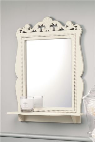 Buy Scroll Detail Mirror Shelf from the Next UK online shop