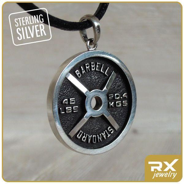 Кулон диск от штанги : Кулон блин штанги BARBELL STANDARD - Sport RX Jewelry - Спортивные ювелирные украшения