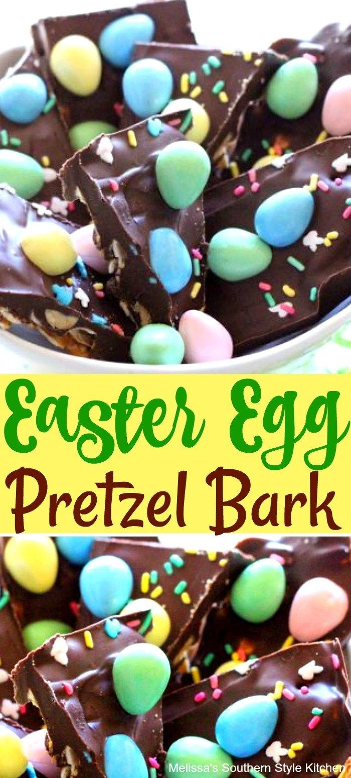 Easter Egg Pretzel Bark – melissassoutherns…   – Products