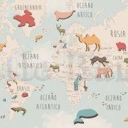 United Colours World Map I