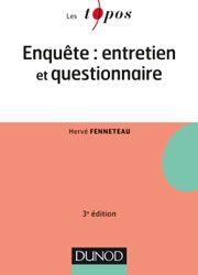 Enquête : Entretien et questionnaire Ed. 3 - BiblioVox – La bibliothèque numérique des bibliothèques municipales et départementales (eBook)