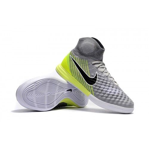 Nike Magista - Chuteira Futsal Nike MagistaX Proximo II IC Cinza Verdes
