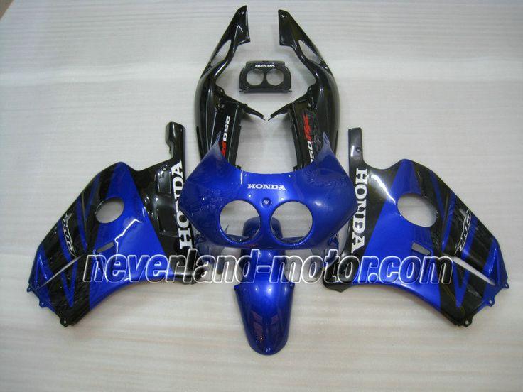 Carenado de ABS de HONDA CBR 250RR MC22 1991-1998 - Azul/Negro
