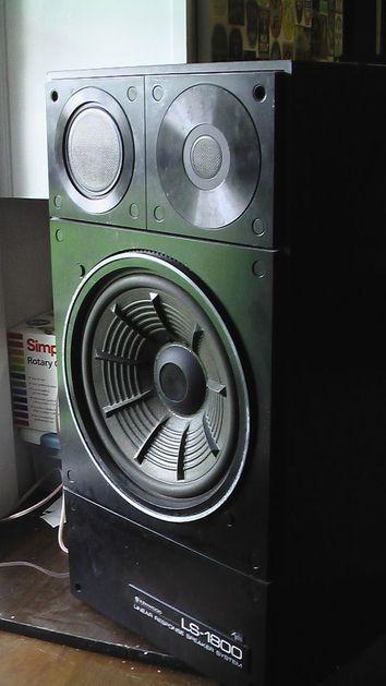 Kenwood LS-1800 Super Rare Kenwood Audiophile Speakers