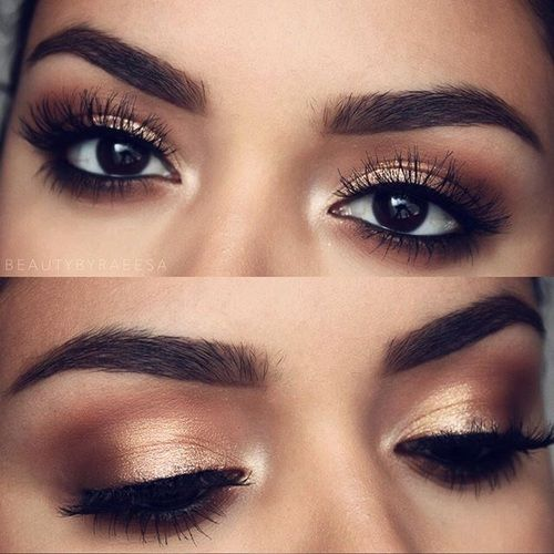 Image uploaded by SarahMarie_02. Find images and videos about gold, bronze and makeup on We Heart It - the app to get lost in what you love.