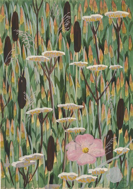 Charles Burchfield wallpaper designs