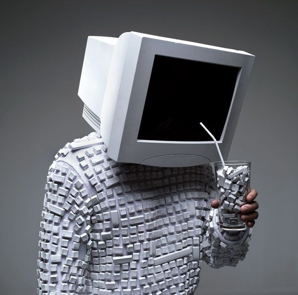 #computer face