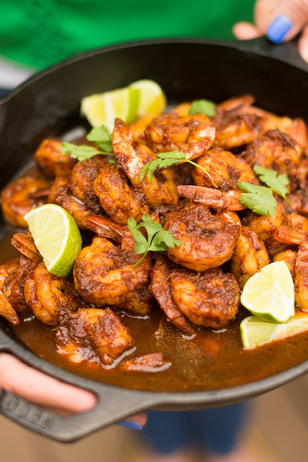 Tequila Lime Shrimp - a fast and easy weeknight dinner recipe