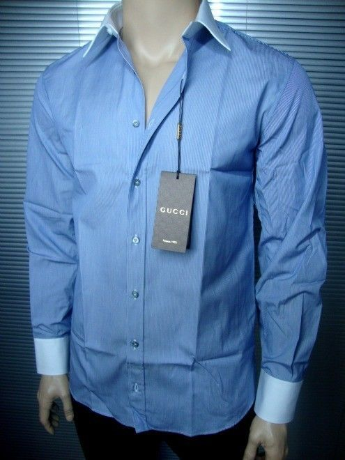 GUCCI LUXURY FINEST SELECTION SHIRT (A164)  sz. 42 / 16.5