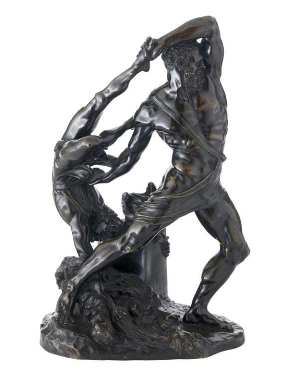 Canova, Antonio (1757 - 1822) (d'après), Hercule et Lichas, France, après 1815. MAD 1740. Don Baverey, 1956 © Musée des Arts décoratifs de Lyon, Sylvain Pretto