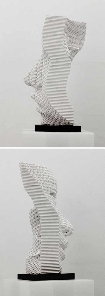 Sculpture by Yi Chul Hee // art // contemporary sculpture // portrait sculpture // modern art