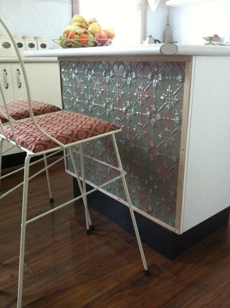 pressed metal furniture. Pressed Metal On The Breakfast Bar Furniture T