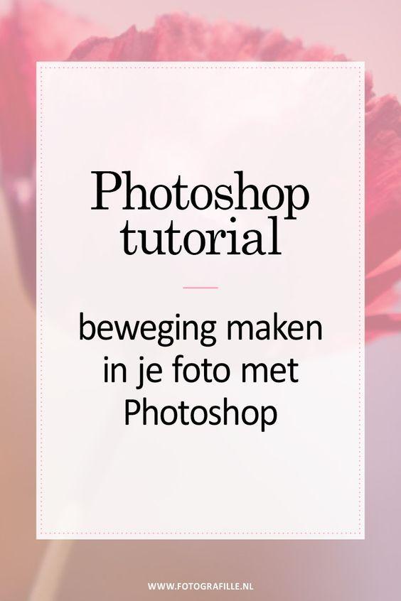 Tutorial – Bewegen Sie Ihr Foto mit Photoshop – Fotografille