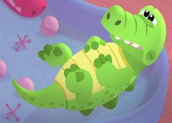 DoctoraJuguetesJuegos.com - Juego: Rompecabezas Cocodrilo Enfermo - Juegos de Puzzles de Doctora Juguetes Disney Jugar Gratis Online