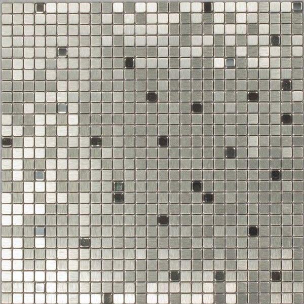 Dell'Arte - mozaiki dekoracyjne Silver Flash 10 (plaster 30x30)